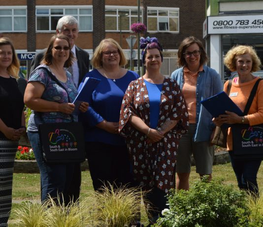 Frimley Business Association wins 'Britain in Bloom' Silver Award!