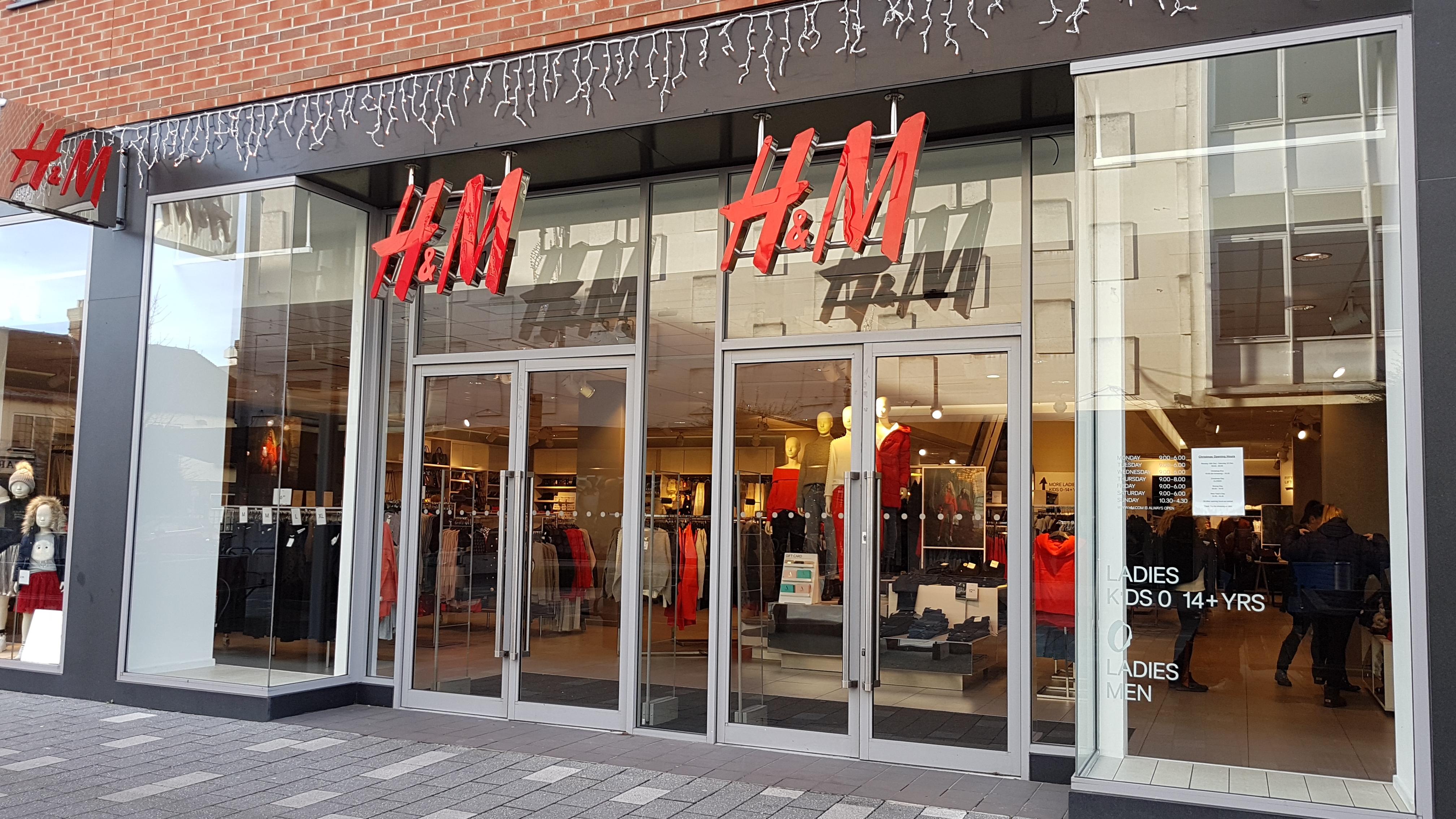 H & M Camberley