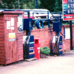 Sparks Garage Camberlley 1980's