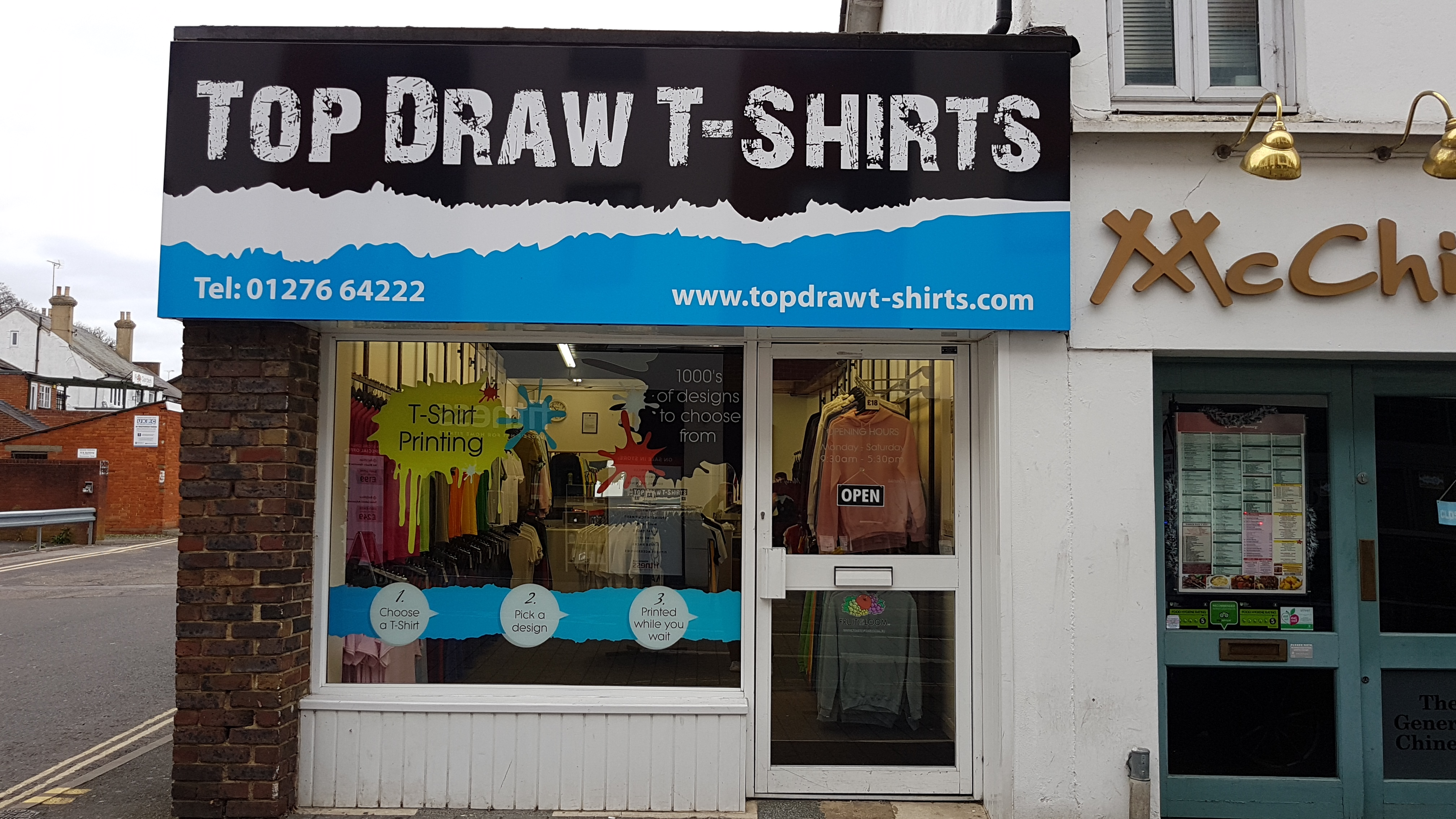 Top Draw T-Shirts 2017