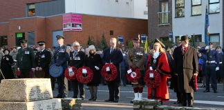 Surrey Heath pays tribute in Remembrance services