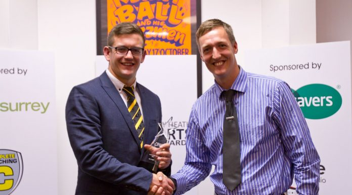 Active Surrey Coach of the Year - Sam Voight 2017