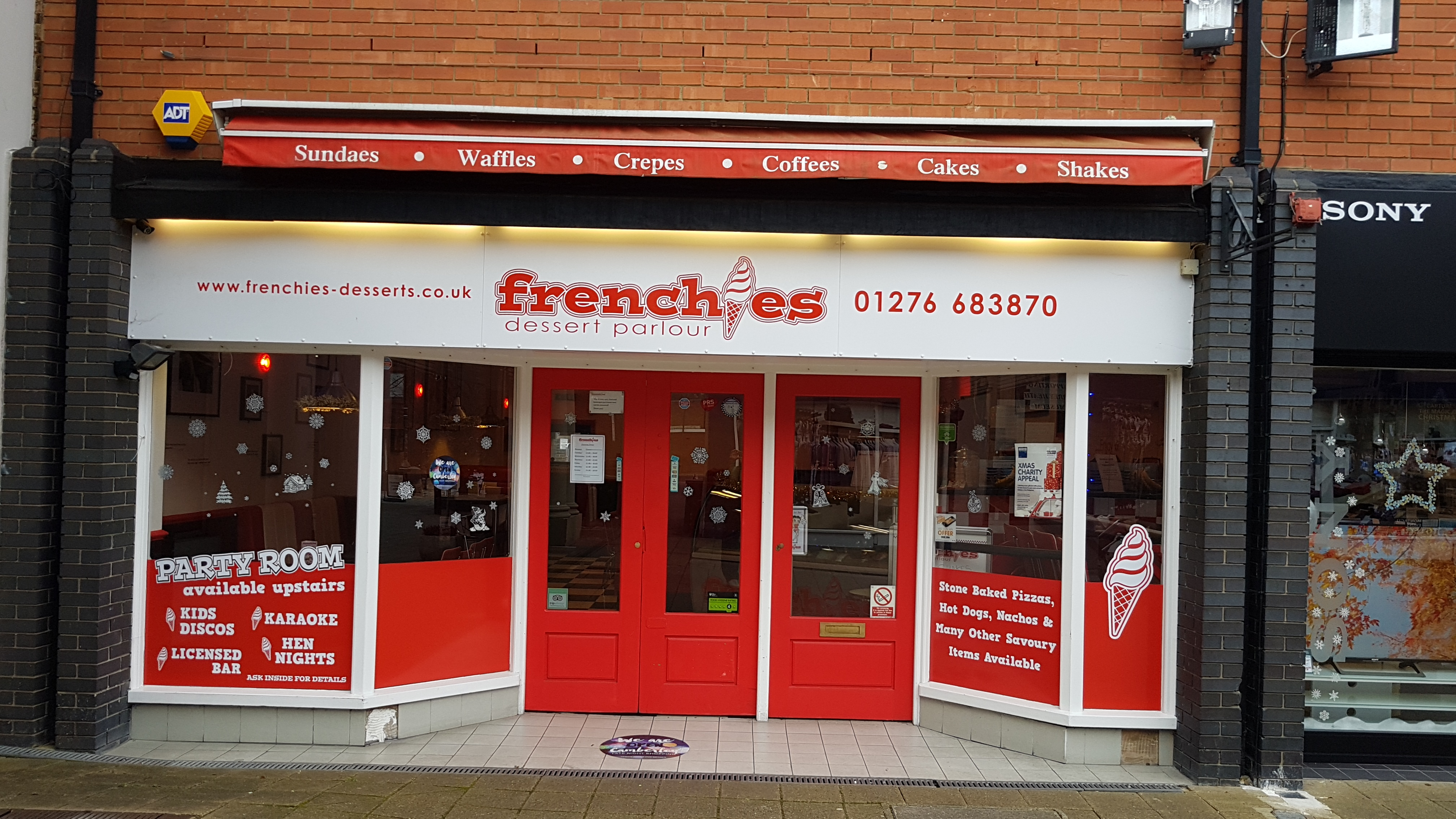 Frenchies Dessert Parlour 2017