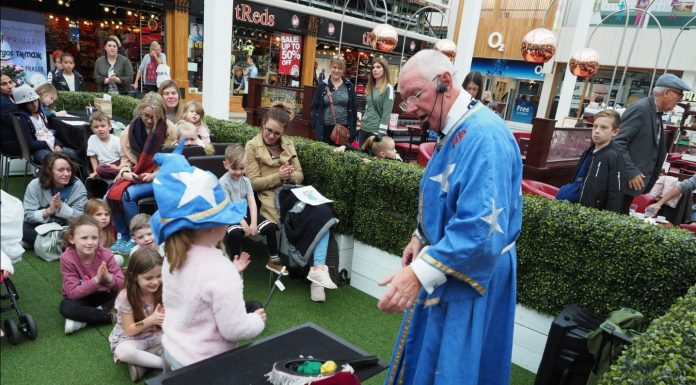 Families have a fang-tastic time at The Square Camberley