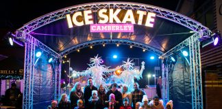 Ice Skate Camberley 2017
