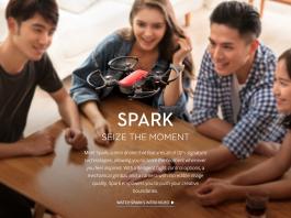 Meet Spark, a mini drone