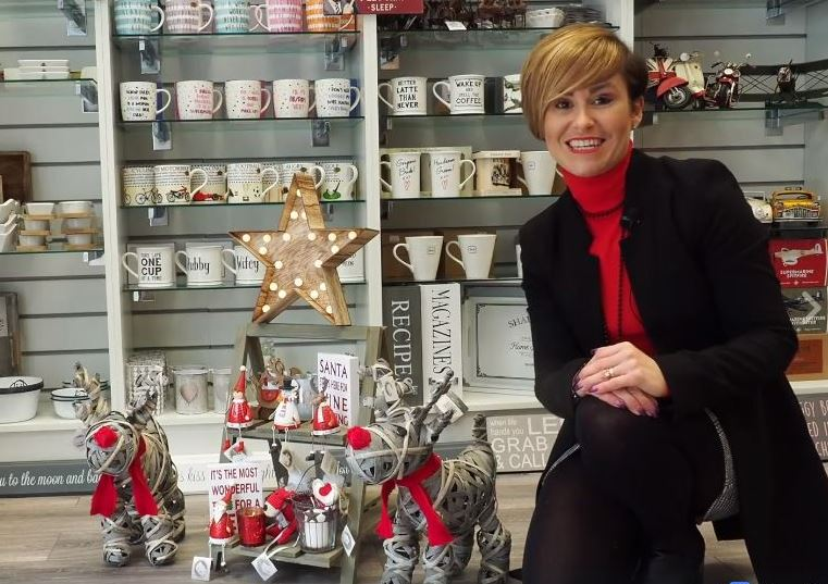 The Square Camberley shares festive finds online