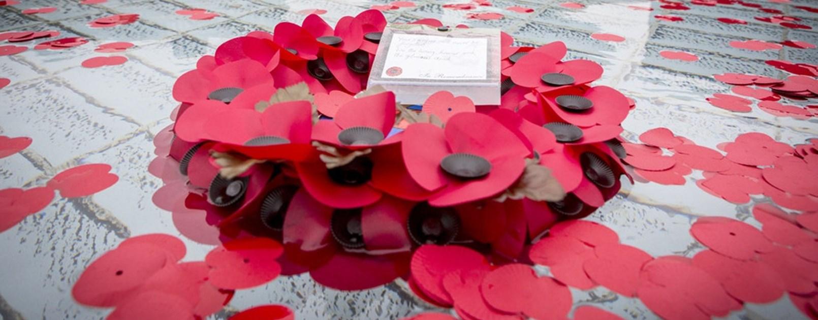 Camberley Royal British Legion Poppy Day Launch