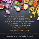Marks and Spencer now offer food delivery