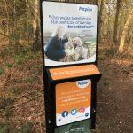 Tikspac Petplan station at Brentmoor Heath