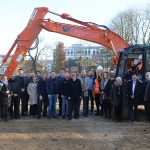 Group shot at Ground breaking ceremony