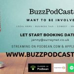 BuzzPodcasts Booking Advert