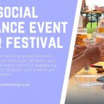 Social distance event Beer festival